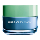 Pure Clay Blue Mask with Marine Algae -  50 Ml