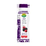 Blackberry Raspberry greek yogurt Drink  with cereal - 330Ml