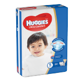 Huggies Ultra Comfort Diapers Size 5 Jumbo Pack 12 - 22 Kg -  62 Diapers