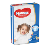 Huggies Ultra Comfort Diapers Size 6 Jumbo Pack 15+ Kg - 62 Diapers