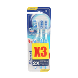 Toothbrush Shiny White Medium - 1PCS