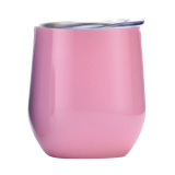 Stainless steel double wall goblet - 320 ml