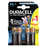 Ultra Power AA long lasting Battery with power check - 3 + 1 Free Batteries