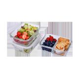 Glass food storage - 6 PCS