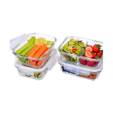 Glass food storage container - 8 PCS