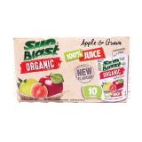 Organic 100% Apple & Guava Juice - 200Ml