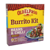 Beef Bean Chilli Burrito Kit - 620G