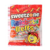 Rainbow Belts Gummy Candy - 90G
