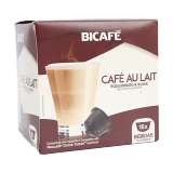 Cafe Au Lait Coffee Capsules - 16 count