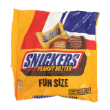 Snickers Peanut butter fun size - 326G