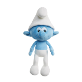 The Smurfs Clumsy Smurf Medium Size Plush Toy - 1PCS