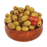 Turkish stuffed green olives - 250 g