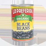 Refried black beans - 15Z