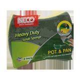 Heavy Duty Scrubber Sponges - 1PCS