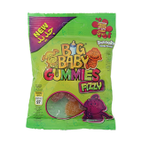 Big Baby Pop Gummies Fizzy Bags - 100G