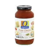 Organic Pasta sauce four cheese - 25Z