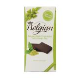 Dark Chocolate With Green Tea No Sugar - 100G