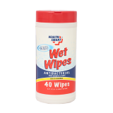Antibacterial wipes - 40 count