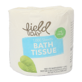 100% Recycled Bath tissue - One roll