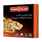 Veggie Delight Pizza - 470G