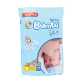 Newborn Diapers - 48 count