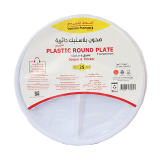 """Round Plastic Plate 10"""" - 25 count"""