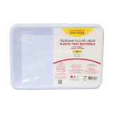 Rectangle Plastic Tray Size 5 - 50 count