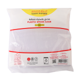 Plastic Spoon HD Clear - 50 count