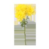 Yellow Chrysanthemum Flower - 1PCS