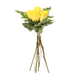 Yellow Rose Bouquet - 6 count