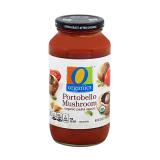 O Organics Portobello Mushroom Pasta Sauce - 25Z