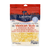 4 Cheese Blend Mexican Style Reduced Fat - 8Z