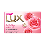 Soft Rose French Rose & Almond Oil Soap Bar - 75G
