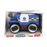 Police Vehicle with Light & Sound - 1PCS