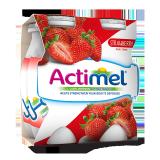 Strawberry Dairy Drink - 4x93Ml