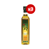 Olive Oil Blend of Refined Olive Pomace & Extra Virgin Olive Oil - 3 X500Ml