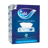 Classic Facial Tissue -  6 Boxes x 100 Sheets 2 play