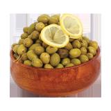 Salkini Syrian Green Olives - 500 g