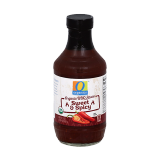 Sweet and Spicy Organic BBQ Sauce - 20Z
