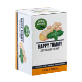 Happy Tummy Soothing Ginger and Mint - 16 count