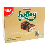 Halley Chocolate Coated Sandwich With Marshmallow -  20 x 26G