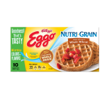Nutri Grain Whole wheat waffles - 12.3Z