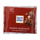 Rasins and hazelnut Chocolate - 100G