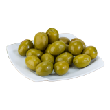 Green Moroccan Olive With Lemon - 250 g