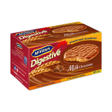Digestive Biscuits Covered with Milk Chocolate -  200G