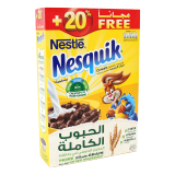 Nesquik Chocolate Breakfast Cereal - 450G 20%FREE