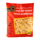 Thin Frozen French Fries - 2.5Kg