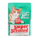 Kitty White Premuim White Cat Litter Super Scented -  9.07Kg