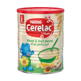 Cerelac Infant Cereal Wheat & Fruit Pieces - 400G