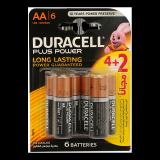 Plus Power AA Batteries -  4 + 2 Free Batteries